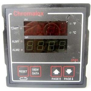 CHROMALOX 3101-11000 3101 1/4 DIN HIGH/LOW SAFETY LIMIT CONTROLLER, TEMP CONTRO