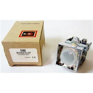 CUTLER HAMMER E30BD METALLIC INDICATOR LIGHT, INDICATING LIGHT, 30.5mm, 480VAC