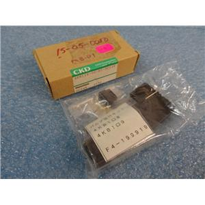 CDK Corporation 4KB119-00-D3-DC24V Solenoid New