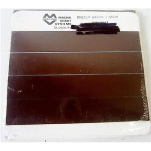 """*PACK OF 25* MAGNA CHART SYSTEMS VISUAL PMR-8611 PRECUT MAGNA RIBBON, 1"""" x 6"""" P"""