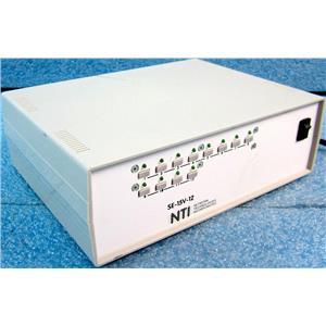 NTI NETWORK TECHNOLOGIES INC SE-15V-12 12-PORT KVM SWITCH, KEYBOARD VIDEO MOUSE