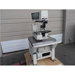 Nanometrics 7201-1267 Wafer Inspection/Measuring Station W/Newport Table