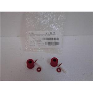 **Pack of 2** Corning Pyrex 2158-CO Red Hose Connector for 2158