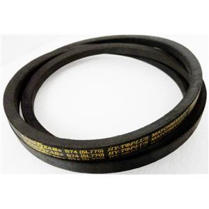 "GOODYEAR 5L770 B74 FHP HY-T PLUS V-BELT, 5L 77"" NOMINAL OUTSIDE LENGTH, 21/32"""