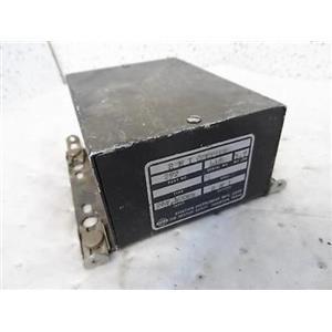 Aviation Instrument Mfg. RMI Coupler P/N 292 Type 26V, 400Hz