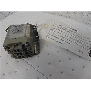 Leach Relay 9274-6205 28VDC MS24568-D1