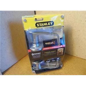 Stanley Satin Chrome Lever Smart Key Door Handle Model 309KNL 626SMT
