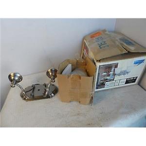 Progress Lighting P/N 548 359 2-Light Bathroom Fixture P2730-81 Antique Nickel