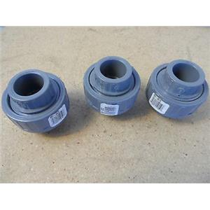 """Spears 857-007C 3/4"""" Sch80 Union New Lot Of 3"""