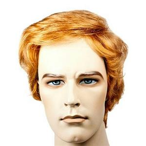 Brown Donald Trump You're Fired Adult Costume Wig Lacey Delxue Wig