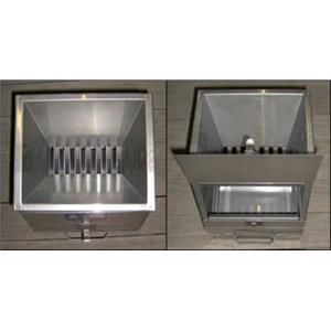 "Jones Stainless Steel Enclosed Micro-splitter 3/8"" Riffles w/2 pans"