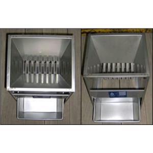 "Jones Stainless Steel Micro-Splitter 3/8"" Riffles w/4 pans"