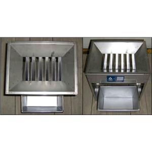 "Jones Stainless Steel Micro-Splitter 1/2"" Riffles w/4 pans"
