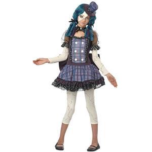 Broken Doll Tween Costume Size Large 10-12