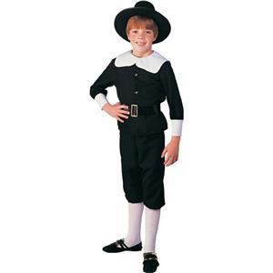 Rubie's Pilgrim Boy Child Costume Size Medium 8-10