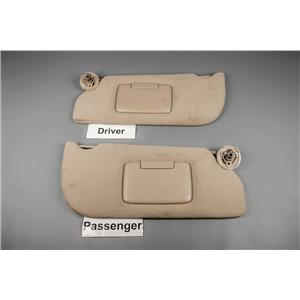 Chevrolet Uplander Saturn Relay Buick Terraza Sun Visor Set Covered Mirrors