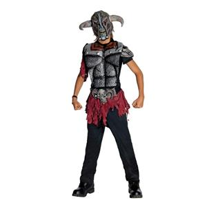 Warlord Evil Horrorland Viking Warrior Child Costume Large