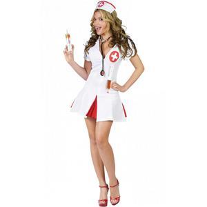 Say Ahhh! Sexy Adult Nurse Costume Shots Medium/Large 10-14