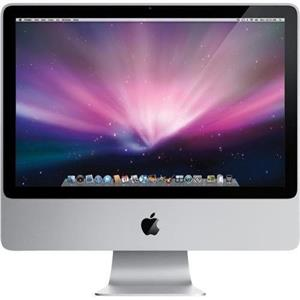 "Apple iMac A1225 20""- MB417LL/A Core 2 Duo 2.66GHz,320GB HDD,4GB Ram , OS 10.11"