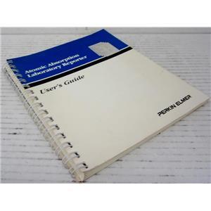 PERKIN ELMER 0993-8741 ATOMIC ABSORPTION LABORATORY REPORTER USER'S GUIDE