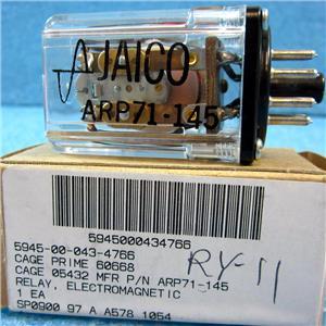 JAICO ARP71-145 ARP 71-145 ELECTROMAGNETIC RELAY - NEW IN BOX