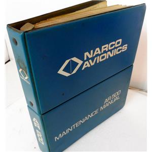 NARCO AVIONICS AR-500 ALTITUDE REPORT MAINENANCE MANUAL, DATED AUGUST 1975