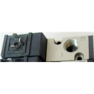 SMC NVK332 AIR PNEUMATIC SOLENOID VALVE, WITH 110VAC SOLENOID