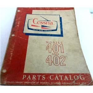 CESSNA MODELS 401 AND 402 PARTS CATALOG, CHANGED MAY 1967