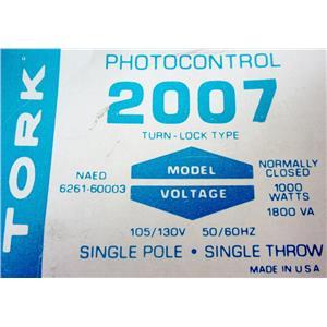 TORK 2007 PHOTOCELL PHOTO CONTROL - NEW