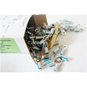 *BOX OF 100* TYCO TE CONNECTIVITY 8-53418-1 RING TONGUE WIRE TERMINALS - NEW