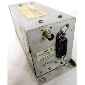 NARCO AVIONICS UGR-3 UHF GLIDESLOPE RECEIVER, 40 CHANNEL, GLIDE SLOPE