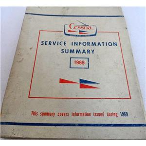 CESSNA SERVICE INFORMATION SUMMARY 1967, DATE ISSUED FEBRUARY 1970