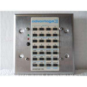 ADVANTAGE IWA KEYPAD FOR AMPLIFIER / CONTROLLER SYSTEM - USED