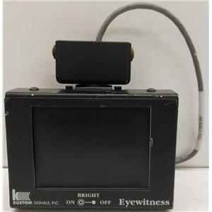 KUSTOM SIGNALS INC MONITOR FOR EYEWITNESS DASHCAM DASH CAM RECORDING SYSTEM