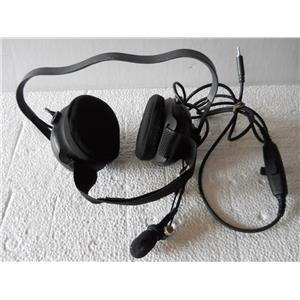 OTTO HEADSET, BEHIND-THE-HEAD STYLE, GROUND COMMUNICATIONS - USED w/GUARANTEE