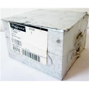 "HOFFMAN A-SG6X6X4 PULL BOX, 6"" X 6"" X 4"", SCREW COVER, NEMA 1 - NEW SURPLUS"