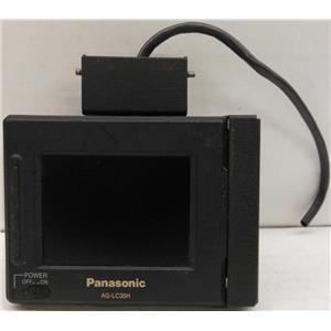 PANASONIC AG-LC35H DISPLAY MONITOR, COLOR LCD, 6VDC 6 VDC 6V DC POWER