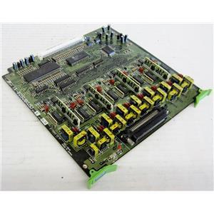 IWATSU IX-8DSUB(US) 8 CIRCUIT ZTD STATION CARD MODULE FOR TELECOM SYSTEM