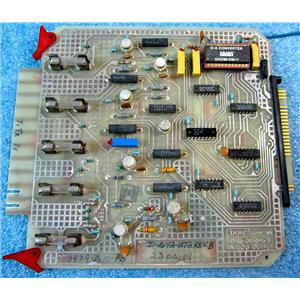 ISSC 347A-DAC-PB PLC CARD MODULE, D-16-09-091 REV B, D-16-12-284 REV. B