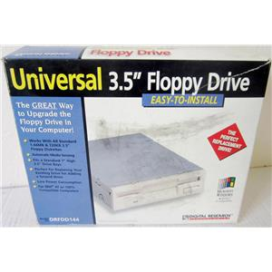 "DIGITAL RESEARCH DRFDD144 UNIVERSAL INTERNAL 3.5"" FLOPPY DRIVE - NEW"