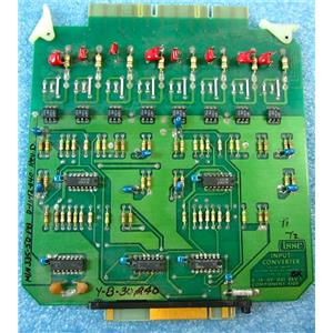 ISSC 335-5D-PB INPUT CONVERTER CARD FOR PLC, D-16-09-001, REV. J