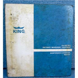 KING KN60B/60C DISTANCE MEASURING EQUIPMENT MAINTENANCE/OVERHAUL MANUAL