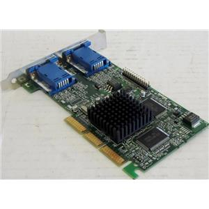 MATROX G45FMDHA32DB 971-0302 REV-A DUAL VGA GRAPIC CARD