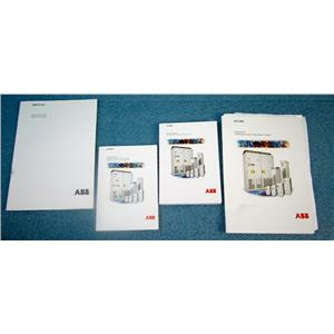 *SET* ABB MANUALS FOR AES800 MOTOR DRIVES - USED, GOOD CONDITION