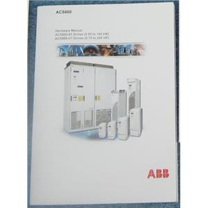 ABB 3AFE64382101 HARDWARE MANUAL FOR AES800 MOTOR DRIVES - USED, GOOD CONDITION