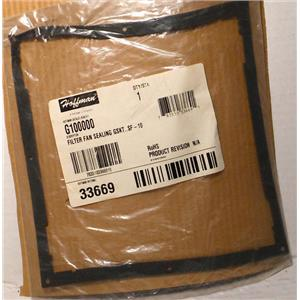 HOFFMAN G100000 FILTER FAN SEALING GASKET FOR SF-10 HOFFMAN # 33669 NEW