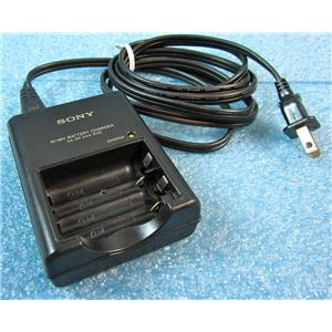 SONY BC-CS2A AA/AAA NI-MH BATTERY CHARGER - USED w/GUARANTEE