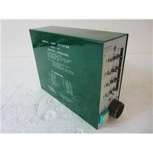 #2 DETECTOR SYSTEMS INC MODEL 840 DIGITAL LOOP DETECTOR, TRAFFIC CONTROL BOX