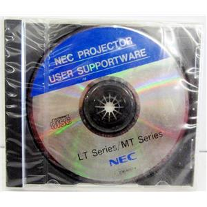NEC 79646674 USER SOFTWARE DISC FOR LT AND MT SERIES PROJECTORS - NEW/SEALED