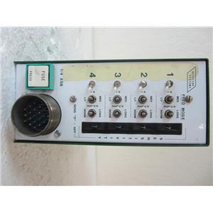 DETECTOR SYSTEMS INC MODEL 940 DIGITAL LOOP DETECTOR, TRAFFIC CONTROL BOX